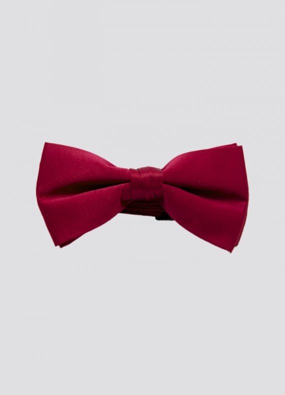 Pre Tied Bow Tie Red