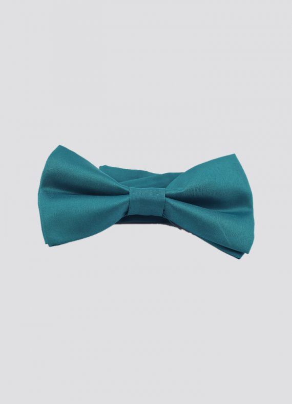 Pre Tied Bow Tie Teal Blue