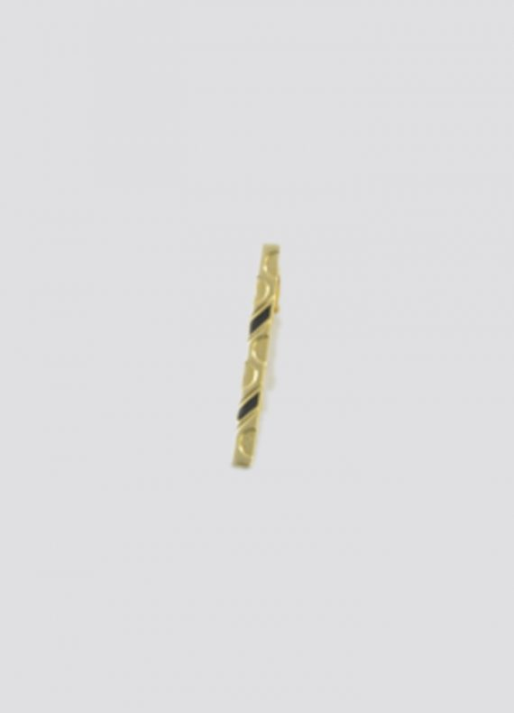 Gold and Black Tie Bar