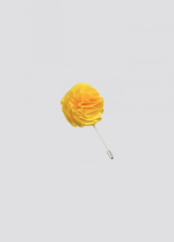 Yellow Flower Lapel Pin copy